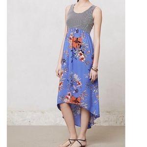Anthro's Lilka Zelie high low maxi dress